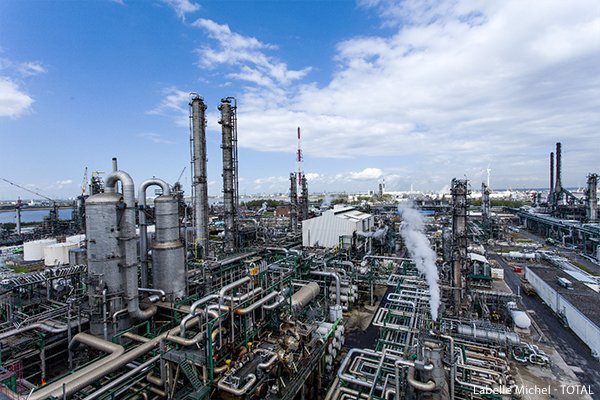 Antwerp refinery in Belgium