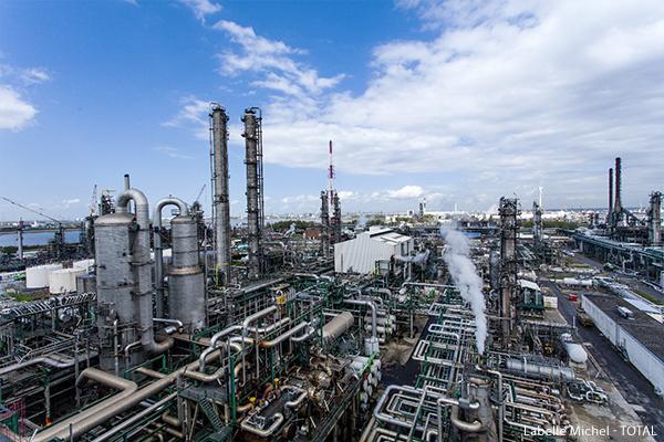 Antwerp refinery in Belgium