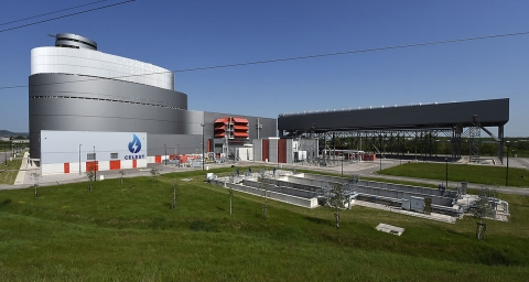 Combined Cycle Gas Turbine,Celeste Power in Toule (France)