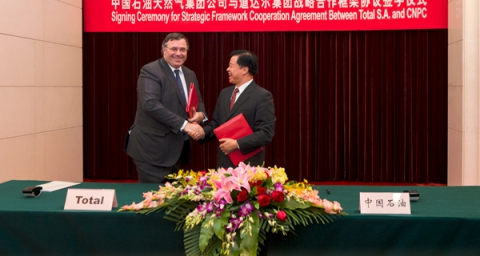 Total and China National Petroleum Company Sign A Strategic Cooperation Agreement