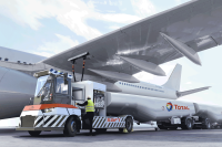 Electric aircraft refueller transporter