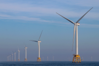 Offshore wind turbines in scotland