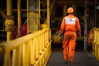 Collaborateur de Total sur le site offshore de Grondin au Gabon