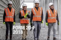 Form 20-F 2018 - cover - publications