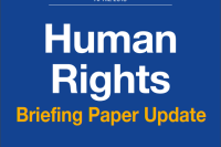 Human Rights - Briefing Paper Update