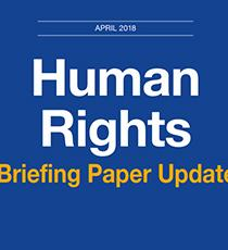 Human Rights Briefing Paper