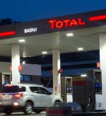 Total service station in Papua New Guinea