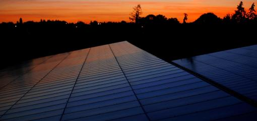 Solar panels on carports