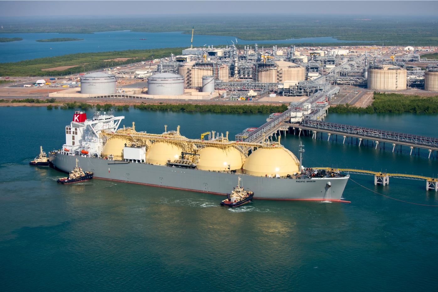 Australia: Ichthys LNG Project Begins Gas Exports | Total.com