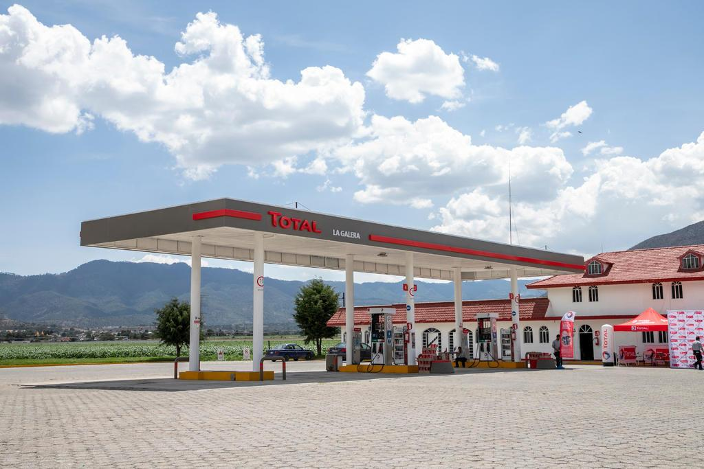 La Galera service station in Mexico