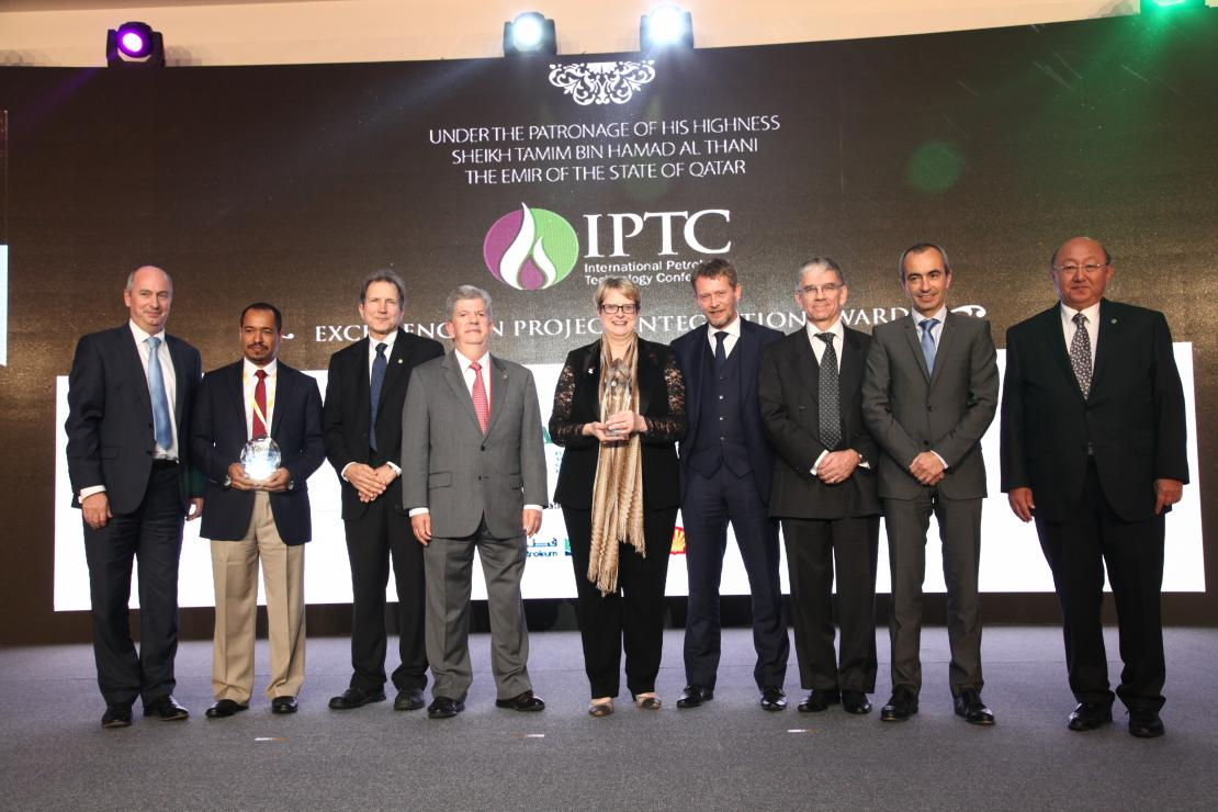 The CLOV project team at the IPTC awards ceremony
