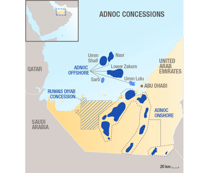 Total and ADNOC join forces to launch unconventional gas